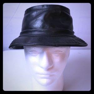 Goorin Brothers Leather Bucket Hat